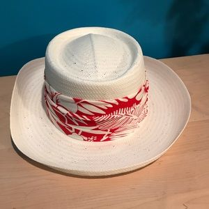 White cowgirl hat!